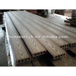軽い空100*25mm WPCの木製のプラスチック合成のdeckingかフロアーリング(セリウム、ROHS、ASTM、ISO 9001、ISO 14001、Intertek)のwpcの木のデッキ