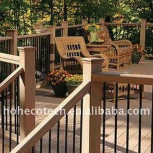 Jardín al aire libre ~laminate cubiertas wpc suelo entarimado/suelo madera/composición de madera suelo