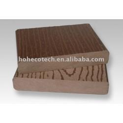 表面の浮彫りになる安い価格の合成物のデッキ