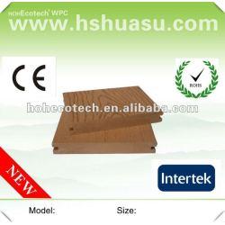 Huasuの普及した固体屋外のwpcのデッキ(セリウムROHS ISO9001)