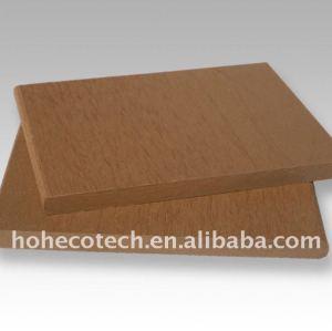 CONSEILS composés de plastique en bois de decking/plancher de conseil de decking de wpc d'épaisseur de 9mm