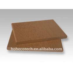 9mmの厚さのwpcのdecking板木製のプラスチック合成のdeckingか床板