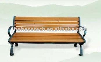 composto plástico de madeira ao ar livre mobiliário