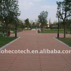 PUBLIC flooring wood plastic composite decking/flooring wpc wood decking wpc terrace