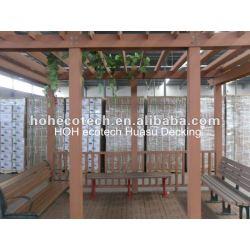 屋外の防水wpcのpergolaの木製のプラスチック合成のpergola (セリウム、ROHS、ASTM、ISO9001、ISO14001、Intertekに渡される)