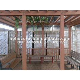 OUTDOOR Waterproof wpc pergola wood plastic composite pergola(passed CE, ROHS, ASTM,ISO9001,ISO14001, Intertek)