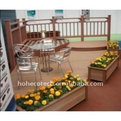 庭の装飾! WPCの木製のプラスチック合成のdeckingの/flooring (セリウム、ROHS、ASTM、ISO9001、ISO14001、Intertek)のdiy decking