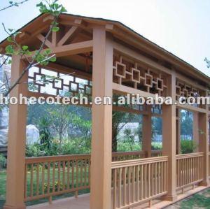 good design wood plastic composite porch frames(with certificates)