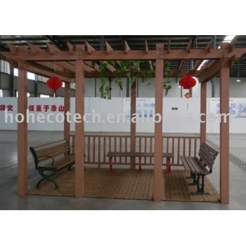 wpc decking/railing/bench/pavilion