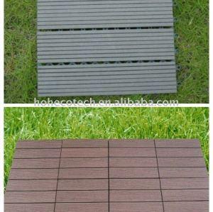 Diy azulejo/eco - ambiente de plástico de madera decking compuesto