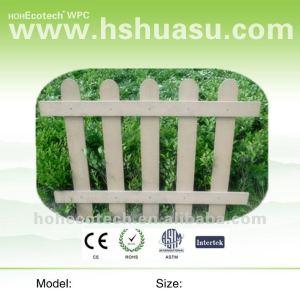 en plastique en bois composite clôture wpc