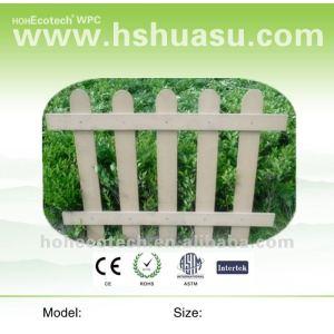 wood plastic composite wpc fence
