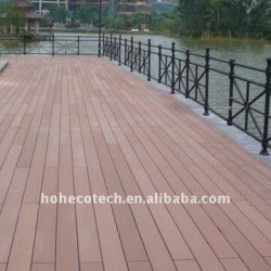 decking木製WPCの木製のプラスチック合成のdeckingまたはフロアーリングの木または材木のdecking