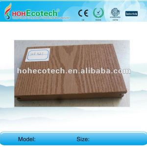 New Material--Anti-UV water-proof wood plastic composite outdoor decking (CE ROHS)