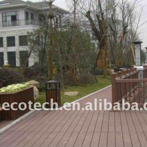 Decking de plancher PUBLIC/bois de plancher (CE, ROHS, ASTM)/decking composés en plastique en bois de bois de construction