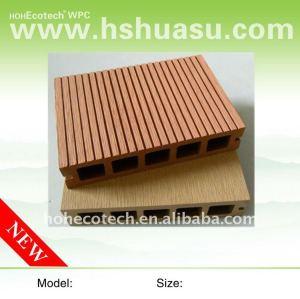 Utilisation decking de matériaux de plancher pour de pont/route /Stairs/plancher composés en plastique en bois (CE, ROHS, ASTM, Intertek)