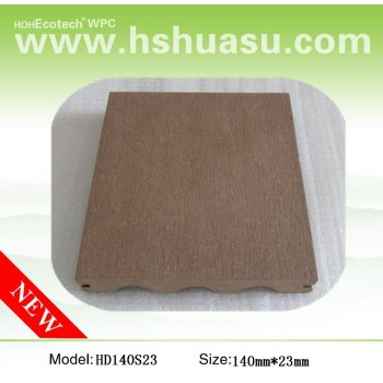 2013 Europe standard solid price outdoor wpc decking composite
