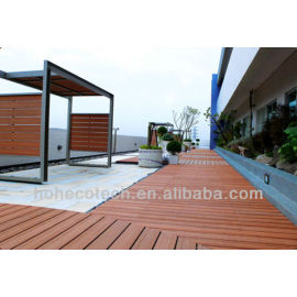 outdoor artifical wood deck