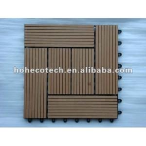 Interlocking deck tile