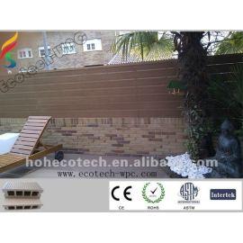 garden wood plastic composite flooring