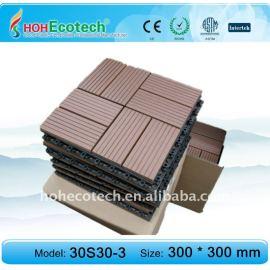 plastic garden tile,floor tiles plastic garden decking/floor tile eco-friendly wood plastic composite