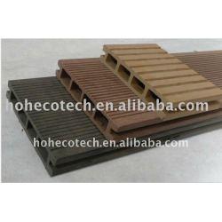 素晴らしい設計はWPCの木製のプラスチック合成のdeckingか橋床板に溝を作った