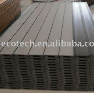 Compósitos de madeira plástica painel de parede