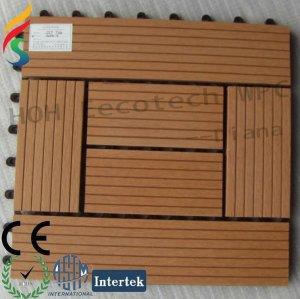 base de plástico deck telha