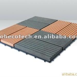 Bordo diy composito di plastica di legno delle mattonelle di vendita calda durevole (prova dell'acqua, resistenza UV, resistenza da decomporrsi e crepa)