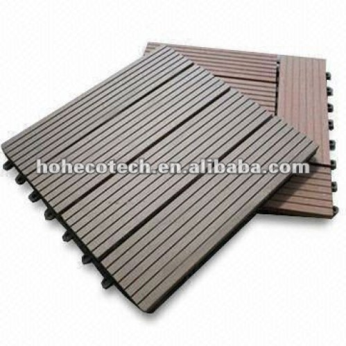 eco friendly diy deck. Waterproof Weather Resistant Eco Friendly Wood Plastic Composite WPC Interlocking DIY Deck Tiles Diy K