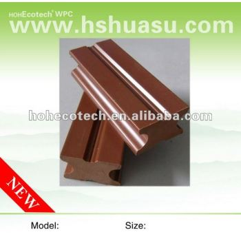 eco-friendly wpc solid decking joist (water proof, UV resistance, resistance to rot and crack)