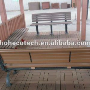 Reciclagem e eco - do meio ambiente wpc material verde madeira& plástico morden lesuire cadeira