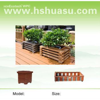 wpc garden product flower pot