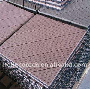 Lavaggio camera/stanzadabagno non - slip, usura - resisten legno plastica pavimenti in composito/legno decking/pavimentazionedibambù