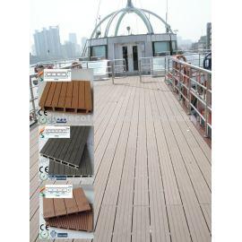 WPC decking floor floating walkway pontoon dock floating marina