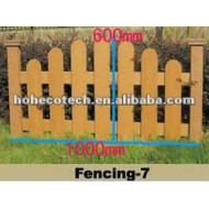 1000*600mmの熱い販売の防水wpcの屋外の塀