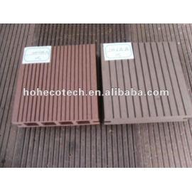 durable hot sale wood plastic composite outdoor flooring(water proof, UV resistance, resistance to rot and crack)