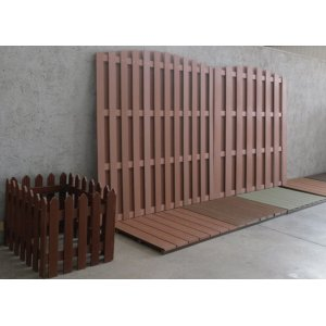 Eco-friendly wpc assembled fencing