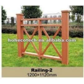 wpc fire-resistant water proof low price railing