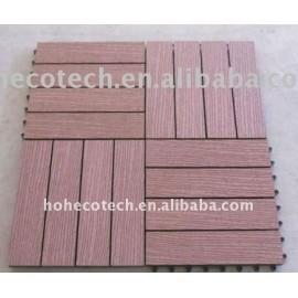 DIY fashional flooring boards Washing room /Bathroom Non-Slip, Wear-Resistan wood flooring