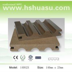 140x23mmの木製のプラスチック合成のwpc