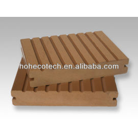 Europe welcome solid decking 140x25mm Long life ecofriendly recycled plastic wood composite flooring