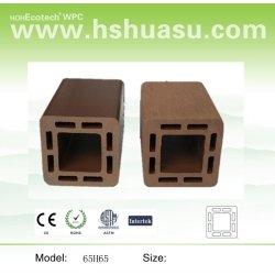 木製のプラスチック合成の柵