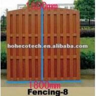 1800*1800mmの熱い販売の防水wpcの屋外の塀