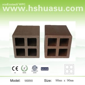 wood plastic composite corrimão
