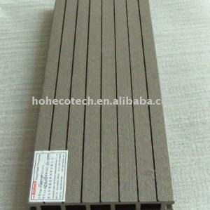 grey wpc flooring with clips