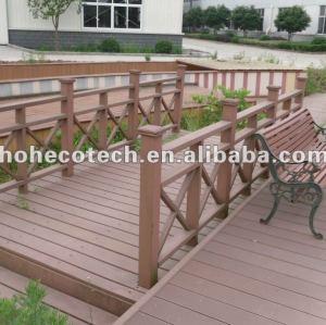 Eco - friendly ( composto plástico de madeira ) wpc ao ar livre decorativa corrimão/ corrimão da escada/ guarda trilhos/ trilhos jardim