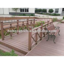 環境に優しい(木製のプラスチック合成物の) wpc装飾的な屋外の柵で囲む/stairの柵で囲むか、または監視柵か庭の柵