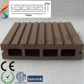eco-friendly wood plastic composite WPC outdoor decking
