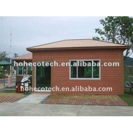 Beautiful design wood plastic composite villa house